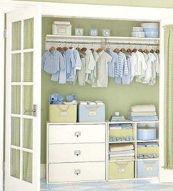 5 armarios baby organizados - Armarios de bebes ...