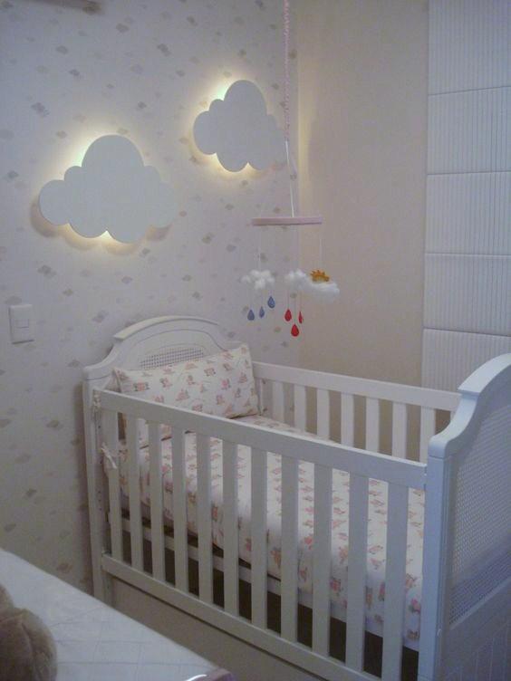 Bonitos cuartos para beb s for Pegatinas para habitacion de bebe