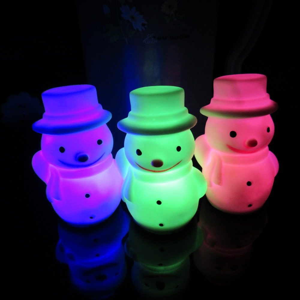 Colorful-Changing-LED-font-b-Snowman-b-font-Christmas-Decorate-Mood-font-b-Lamp-b-font