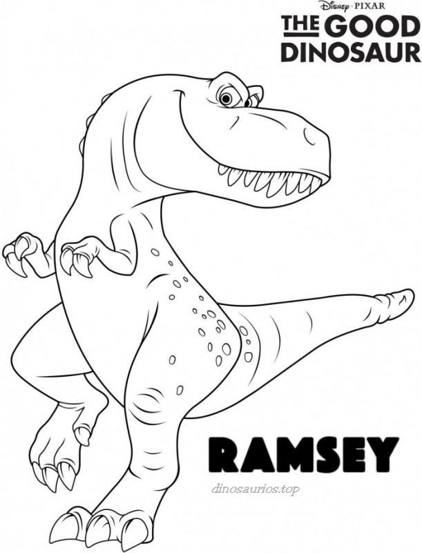 tiranosaurio-dibujo-colorear-dinosaurios-bebeazul.top (7)