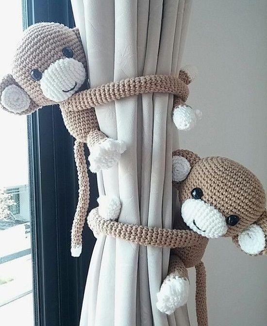 decoracion cuarto bebe monitos amigurumis-bebeazul.top