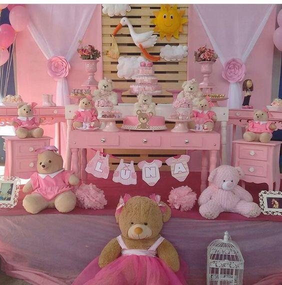 mesas baby shower para nena Bebeazul.top (7)