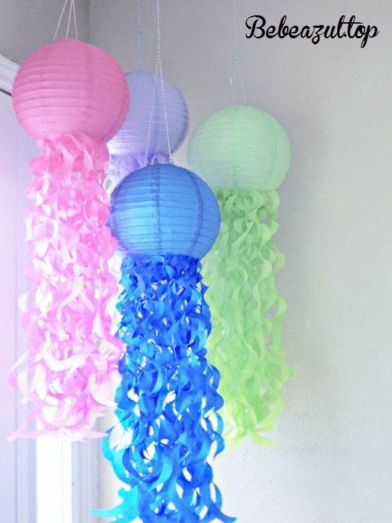 idea decoracion lamparas papel-bebeazul.top (11)