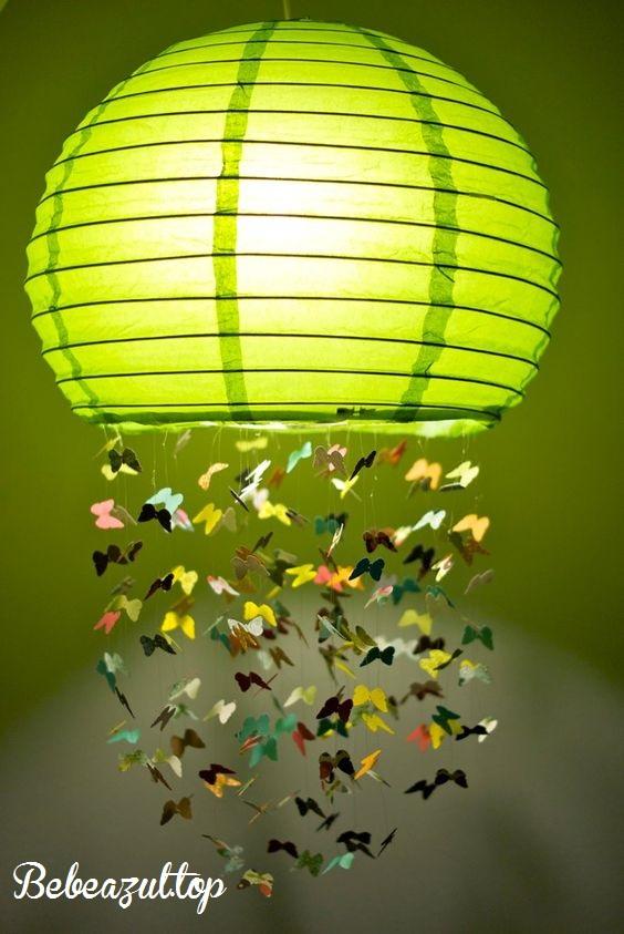 idea decoracion lamparas papel-bebeazul.top (13)