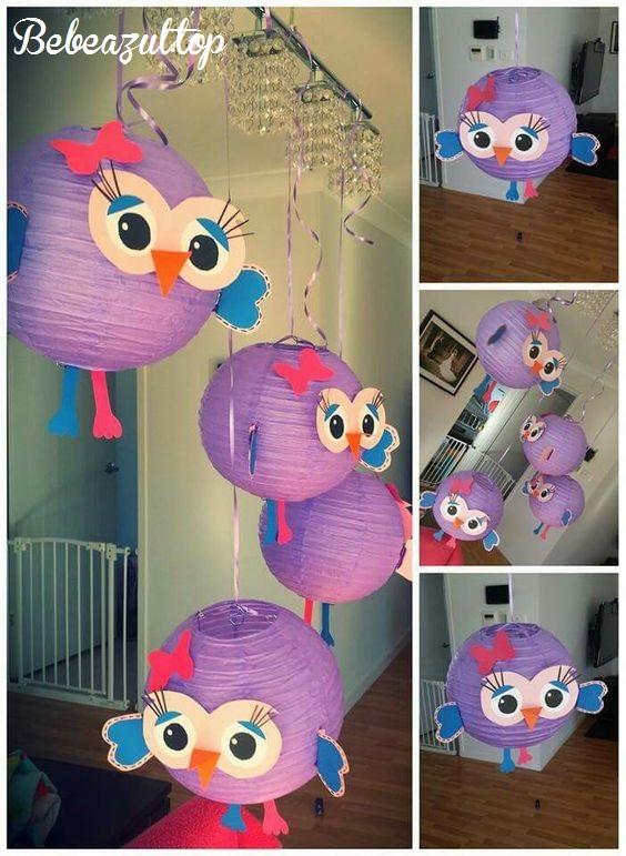 idea decoracion lamparas papel-bebeazul.top (23)