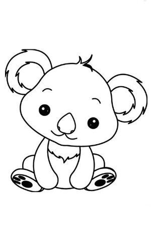 40 Animalitos Dibujos Para Colorear Bebeazultop