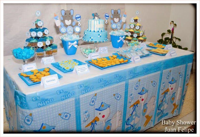 mesas baby shower para nene Bebeazul.top (1)