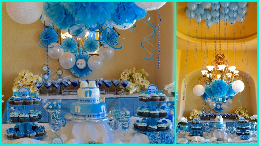 mesas baby shower para nene Bebeazul.top (7)